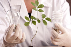 Ecologic laboratory Stock Photos