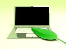 Ecologic Laptop Stock Photography