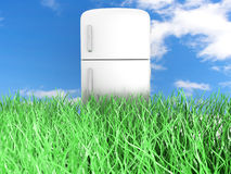 Ecologic Refrigerator Royalty Free Stock Images