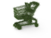 Ecologic shopping cart Royalty Free Stock Photos