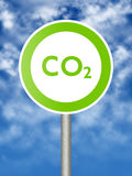 Ecologic sign Royalty Free Stock Photo