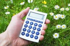 Ecological accounting Stock Photos