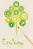 Ecological background Stock Image