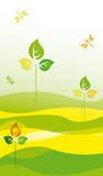 Ecological background Royalty Free Stock Photography