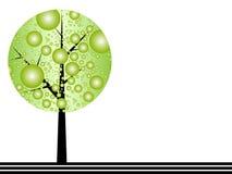 Ecological background. Modern ecological background vector illustration Royalty Free Stock Images
