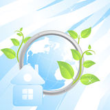 Ecological background stock photos