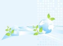 Ecological background Royalty Free Stock Image