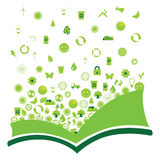 Ecological book Royalty Free Stock Photography