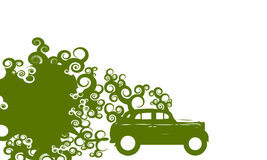 Ecological car Royalty Free Stock Photo