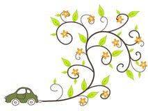 Ecological car Stock Image