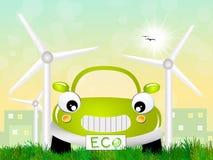 Ecological car Stock Photos
