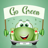 Ecological car Stock Images