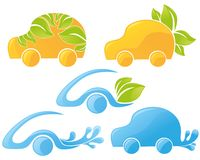 ecological cars Royalty Free Stock Photography
