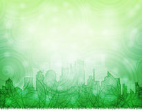 Ecological city Royalty Free Stock Photos