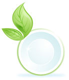 Ecological clean symbol recycling Stock Photography