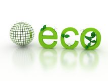 Ecological concept Stock Images