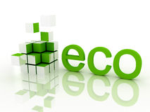 Ecological concept Royalty Free Stock Images