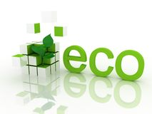 Ecological concept Royalty Free Stock Photo
