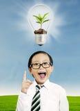 Ecological concept Royalty Free Stock Photos