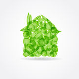 Ecological concept. Small green house. Stock Image