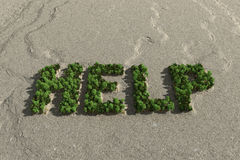 Ecological crisis Royalty Free Stock Image