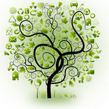 Ecological elements stock photography