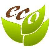 Ecological emblem Stock Image