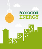 Ecological energy Stock Photo