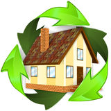Ecological and Energy Saving Concept Royalty Free Stock Photos