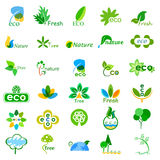 Ecological and Environmental icons Royalty Free Stock Photos