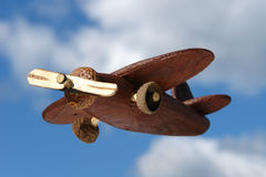 Ecological flying transport Royalty Free Stock Photography