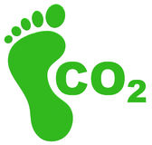 The ecological footprint Stock Photo