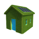 Ecological House Stock Photo