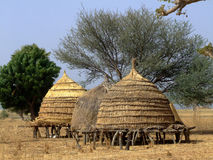 Ecological house... Royalty Free Stock Image