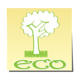 Ecological icon Stock Photos
