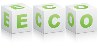 Ecological icon Stock Photo
