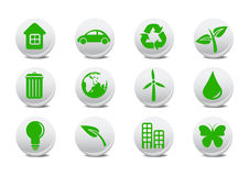 Ecological icons. Vector illustration of ecological icons .You can use it for your website, application or presentation vector illustration