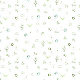 Ecological icons background. Illustration of ecological icons background. design Royalty Free Stock Photo