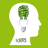Ecological idea Stock Images