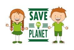 Ecological kids Stock Photo