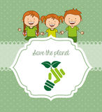 Ecological kids Stock Photography