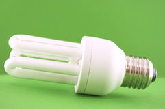Ecological light bulb Stock Images