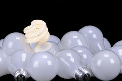 Ecological light source royalty free stock image