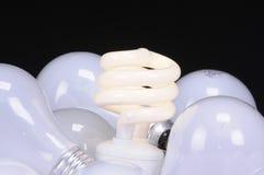 Ecological light source stock photos