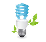 Ecological lightbulbs icon Stock Photos