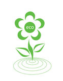 Ecological logotype Stock Images