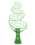 Ecological logotype Stock Photography