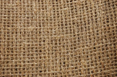 Ecological material:  sackcloth Royalty Free Stock Photo