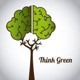 Ecological mind Royalty Free Stock Photo