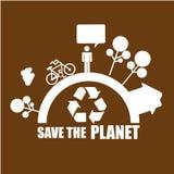 Ecological mind design Stock Image